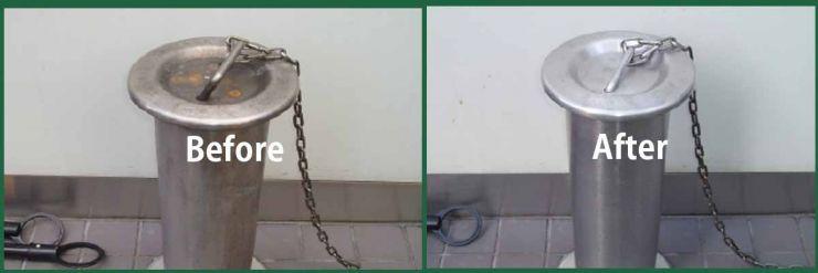 サビ汚れ除去・タイル洗浄・木部のシミ抜き 業務用洗剤 洗浄マジック 20シリーズ