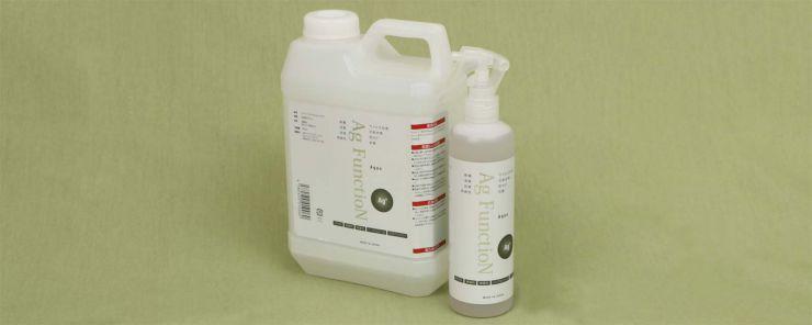洗浄マジック AGシリーズ 除菌・消臭・抗菌・防カビの効果 臭いの分子は菌などの微生物によって作り出されます。微生物は汗や汚れ等を栄養源として増殖し、その時に臭いが発生します。銀イオンはその菌自体にアタックします。 洗浄マジックAgシリーズ は、防臭・除菌・抗菌・防カビ機能を持った銀イオンです。